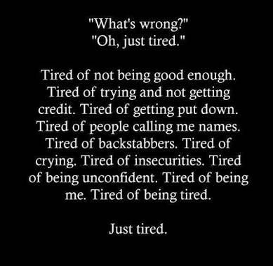 Poems and Quotes - Tired - Wattpad