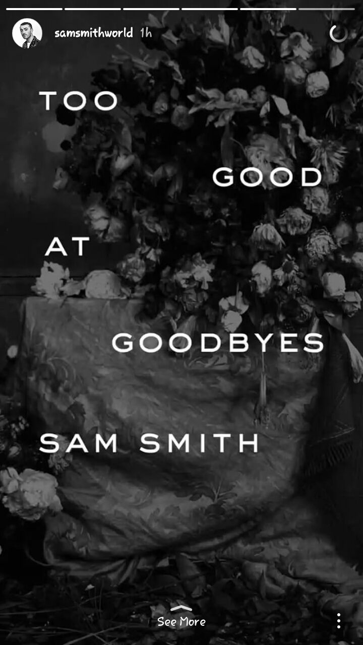 Playing The Guitar Lyrics Chords Too Good At Goodbyes Sam