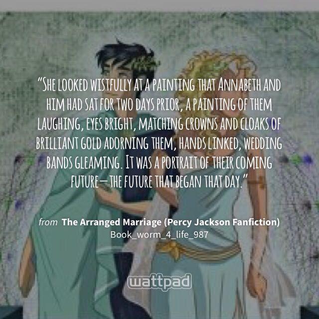 The Arranged Marriage (Percy Jackson Fanfiction) - Twenty
