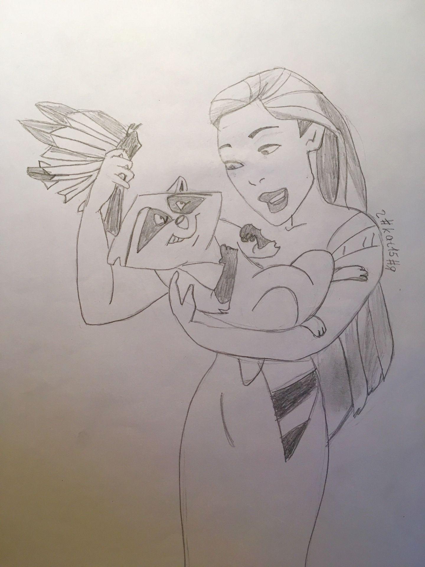 Zeichnungen Disney Pocahontas Wattpad