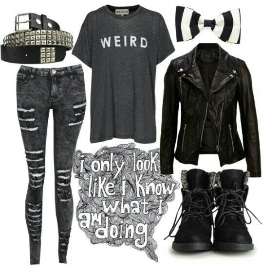 Outfit Idea Book - Punk Rock Outfit - Wattpad