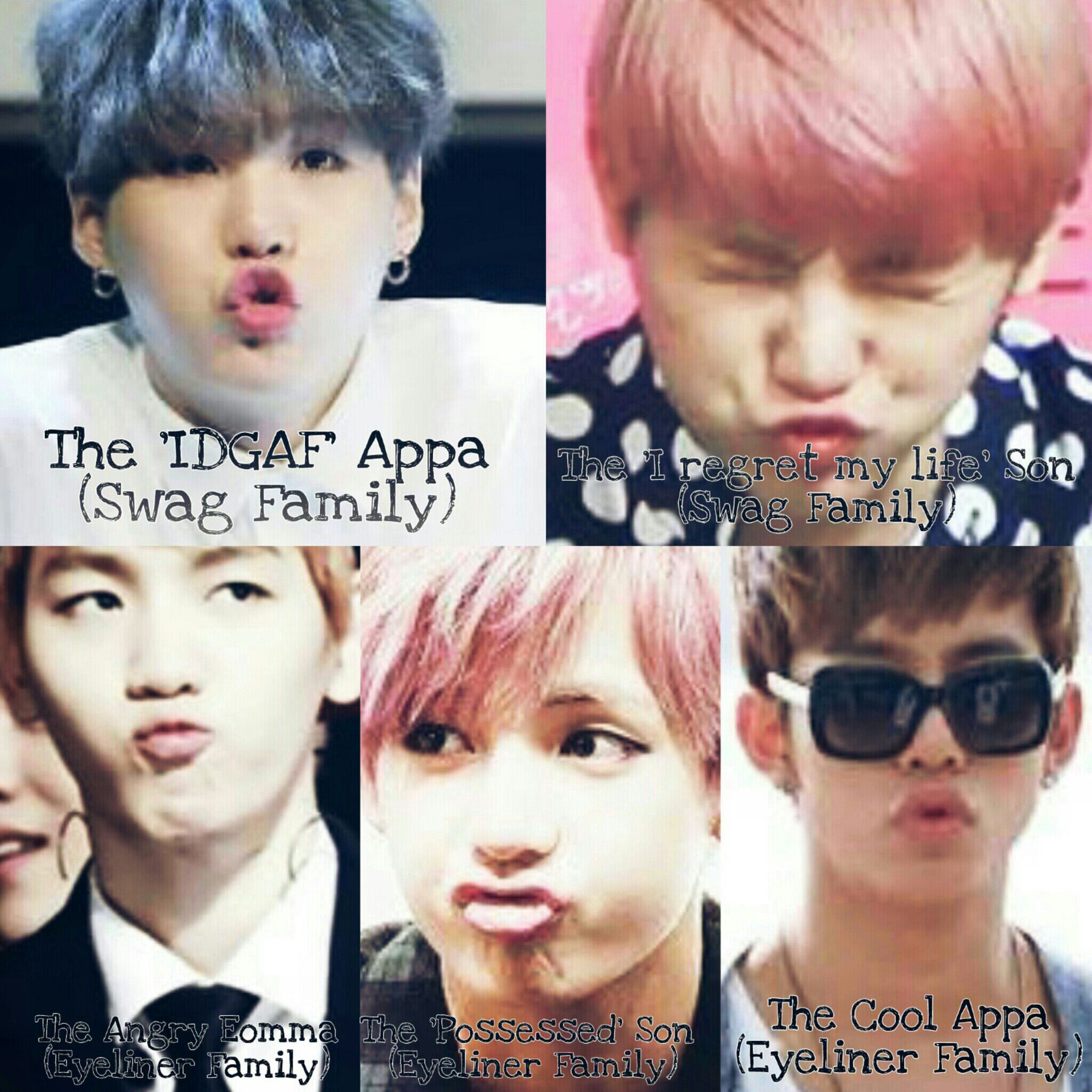 swag fam in the life of suga and woozi swag family