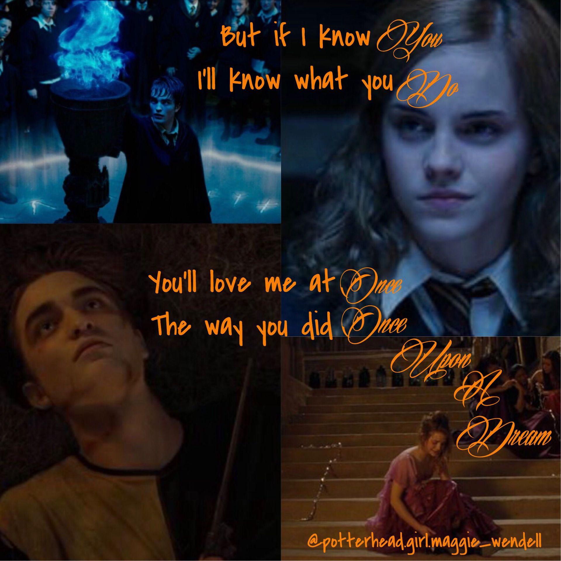 The Secret Love A Cedric Diggory And Hermione Granger Fan