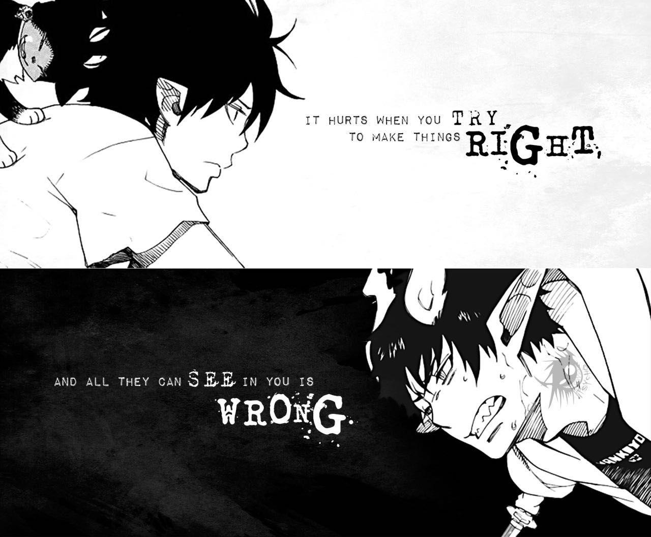 Sad anime quotes 25 wattpad - Depressing anime pictures ...
