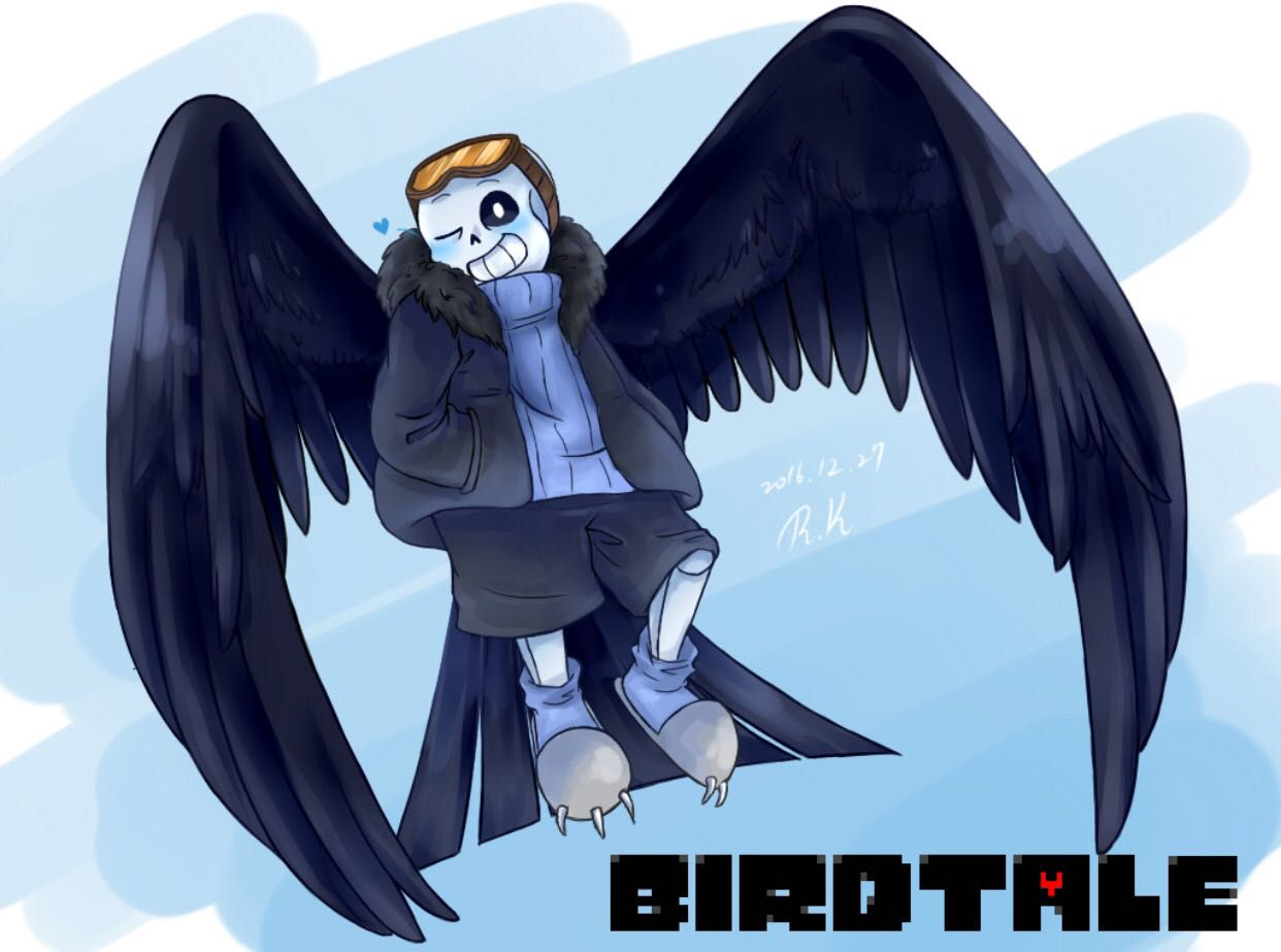 AU! Sans x Reader one shots (DISCONTINUED) - Birdtale! Sans