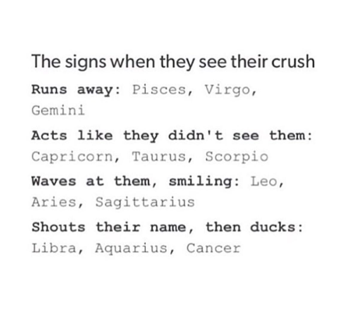 The Book of Zodiac Signs 2 - The Signs when they see their