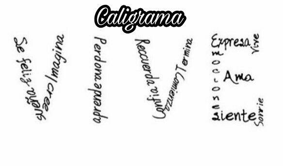 Un Mes Tiene 31 Poesías Editando Caligrama Wattpad