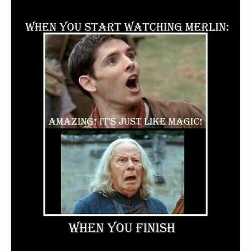 Merlin Crack When You First Start Watching Merlin Wattpad