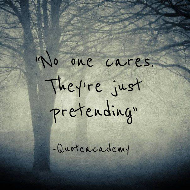 Quotes 2 No One Cares Wattpad