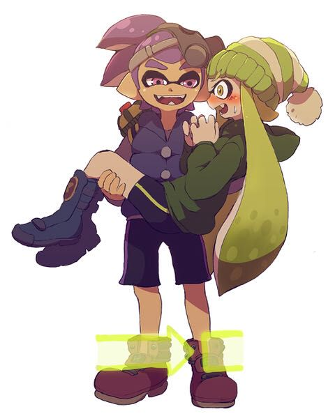 Splatoon One Shots 12 Splatoon Lemons 18 Onlys  - Murasakino -8179