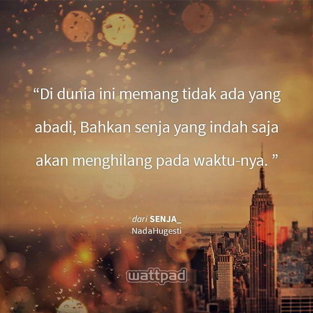 Quotes 8 Senja Wattpad