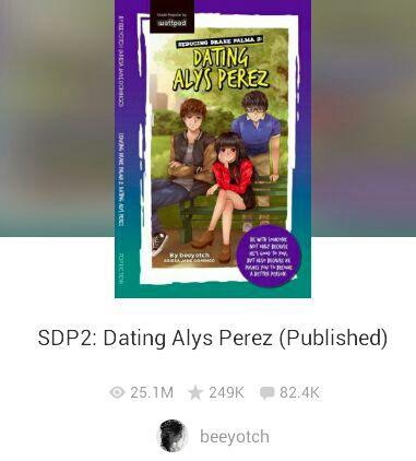 Dating alys perez wattpad books