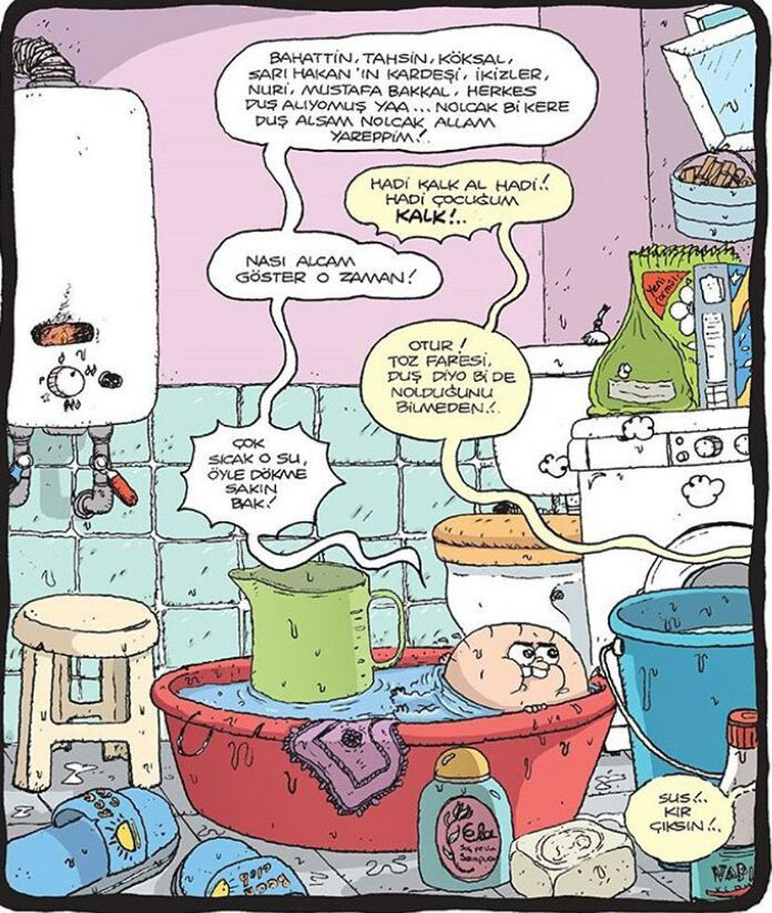 Karikatür Duş Wattpad