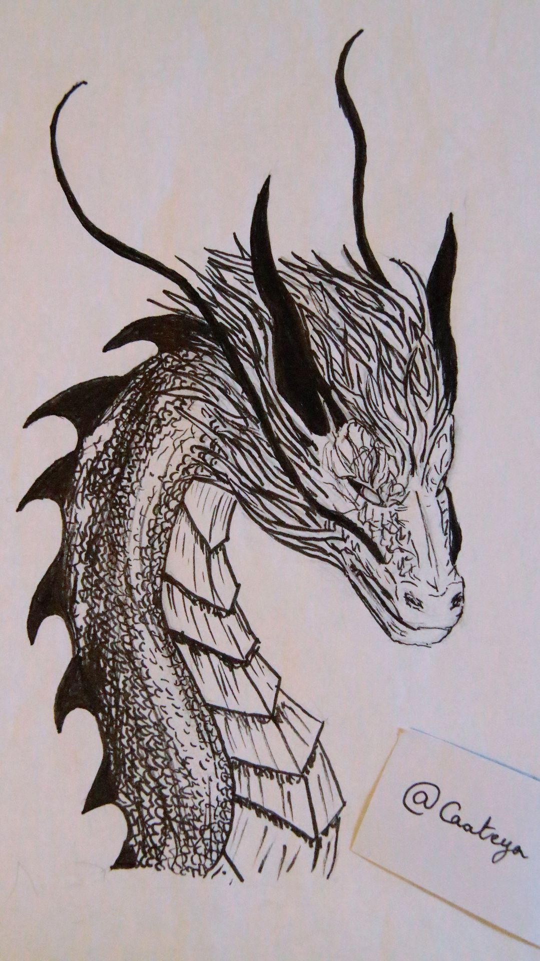 Dessin Dragon