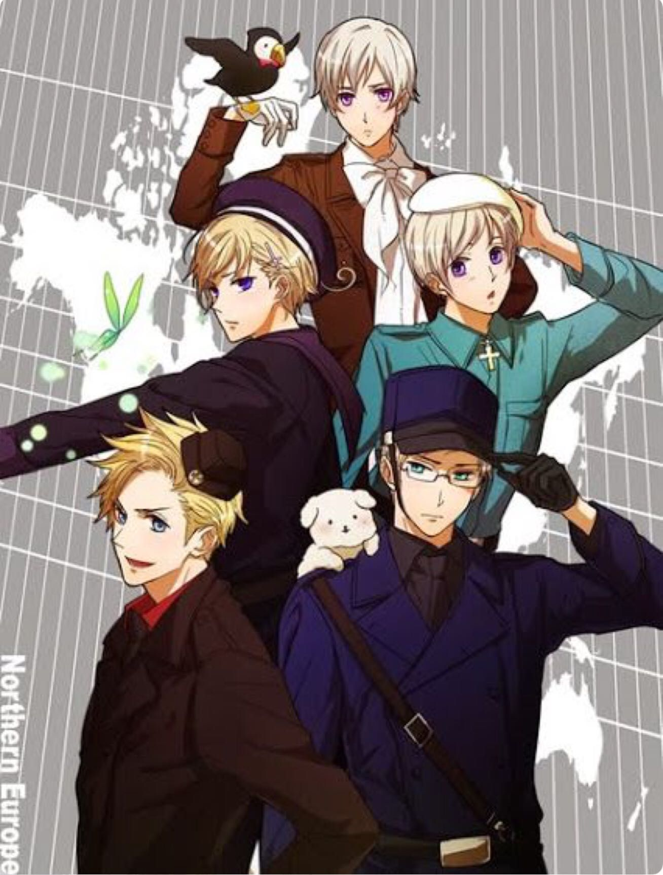 Hetalia Oneshots & Lemons *Requests Closed* - Brother!Nordics x Fem