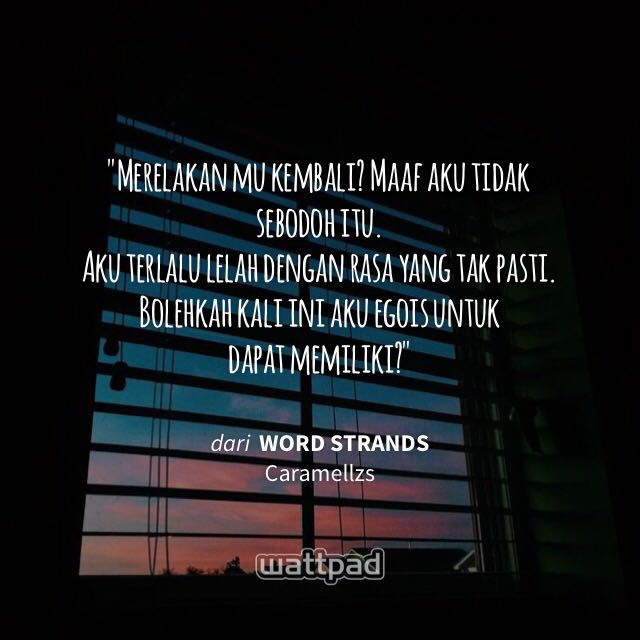 word strands ✨ wattpad