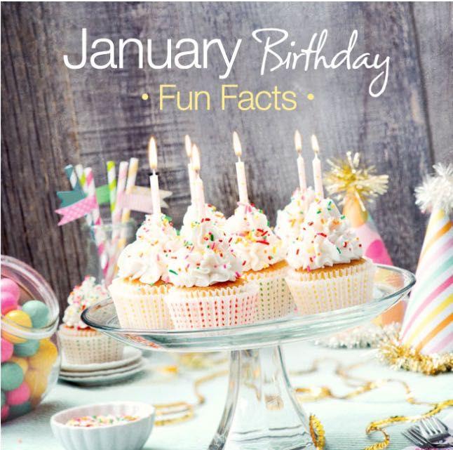 Birth Facts - 🎂January Birthday🎂 - Wattpad