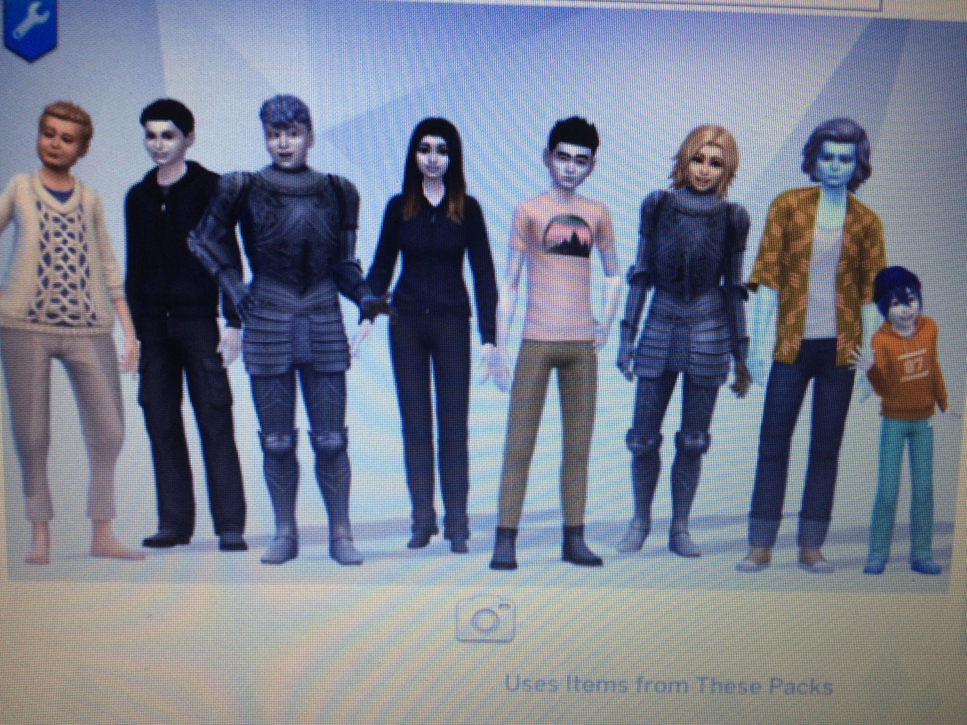 Stuff I Made For The Sims 4 - #22 - Snowdin Characters - Wattpad