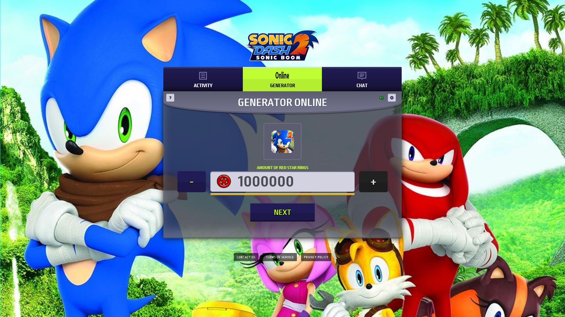 Sonic Dash 2 Sonic Boom Hack Mod - Get Red Star Rings and