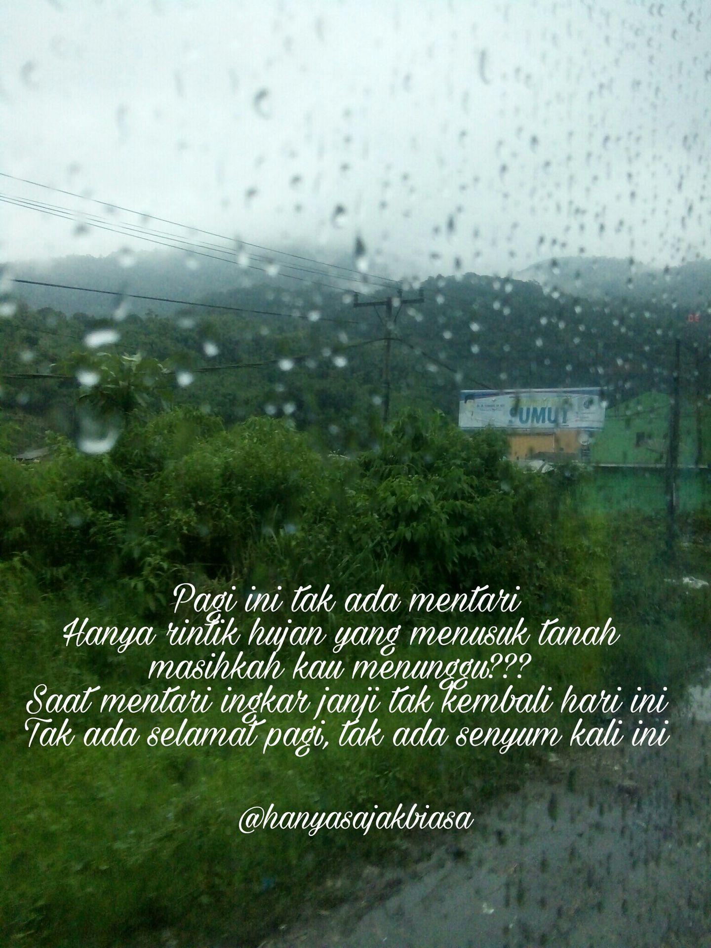 Kata Kata Hujan Di Pagi Hari