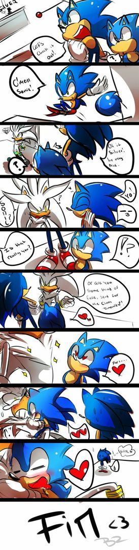 Sonic Funny Pictures Comics And Stuff 4 Classic Sonic Loves Dat Chest Fur Wattpad
