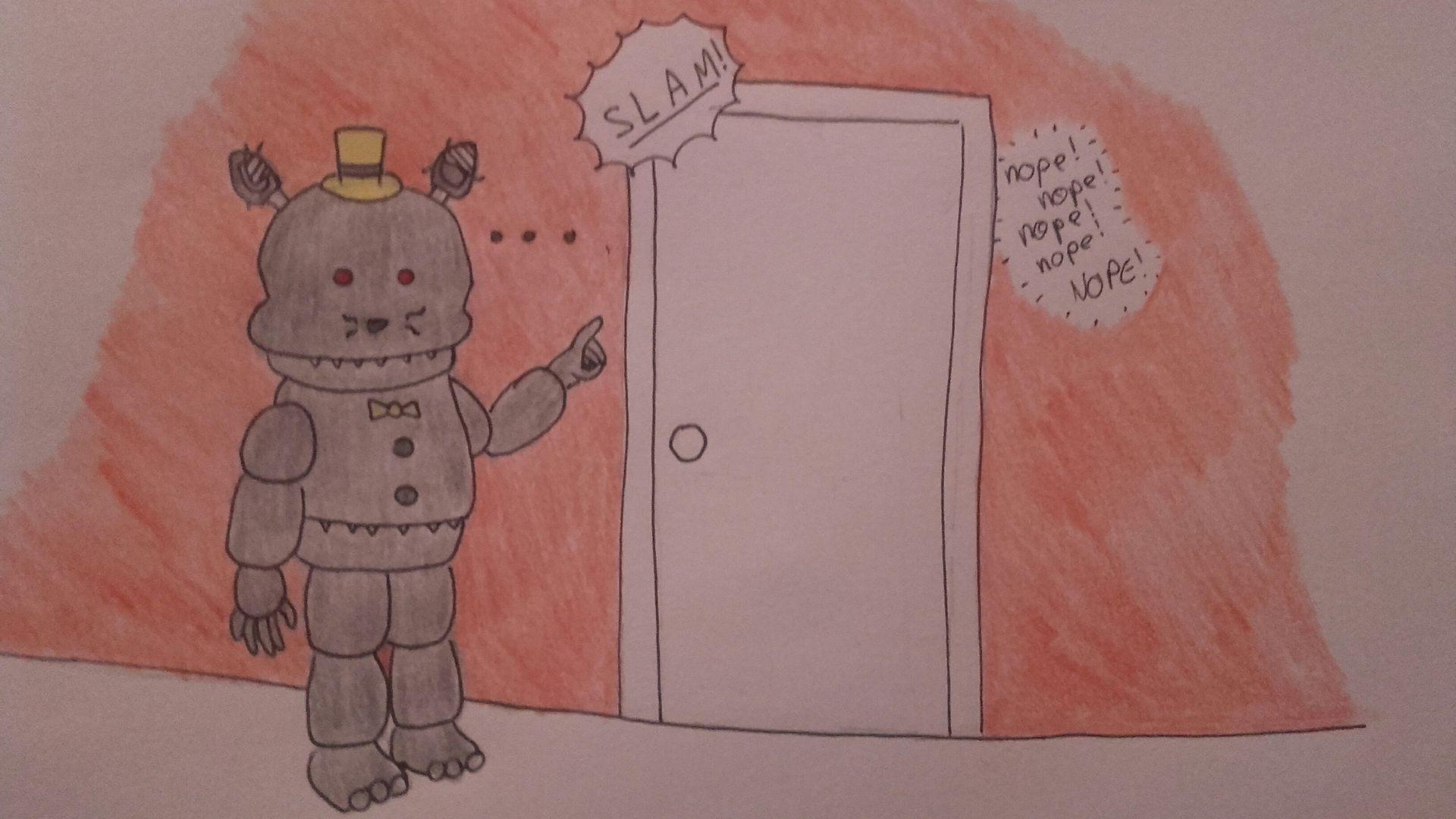 Mes dessins nightmare wattpad