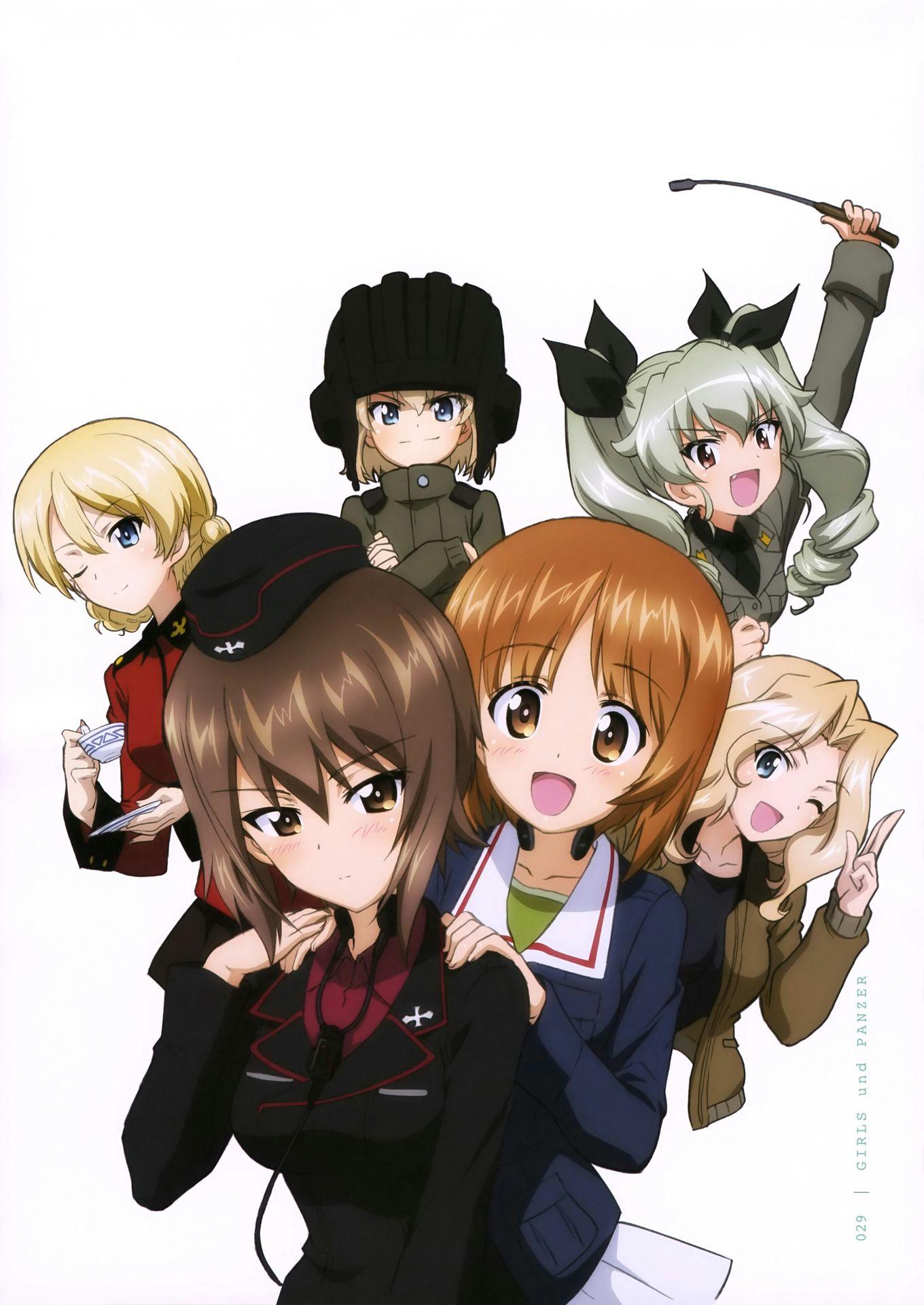 Girls Und Panzer Harem X Male Reader - An Your Growing -5494