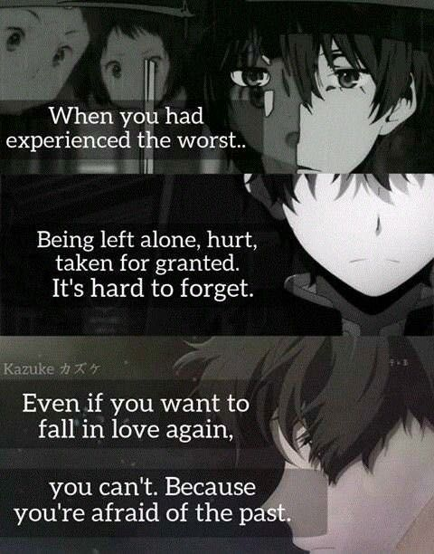 Sad Anime Quotes 137 Wattpad