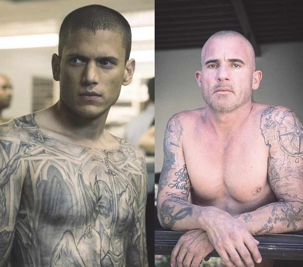 """Image result for Dominic Purcell Tattoos"""""""