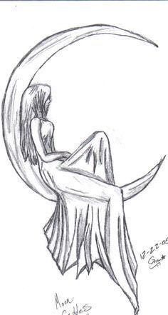 çizim Defterim Ayda Oturan Kız Wattpad