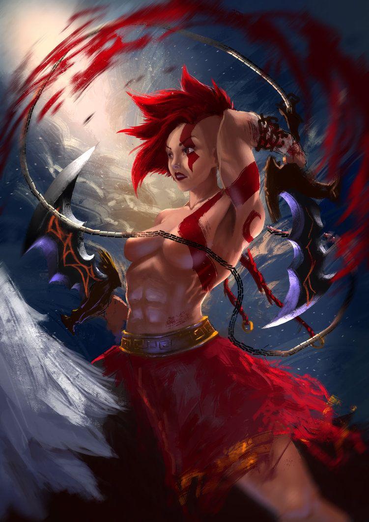 Various Oneshots - Fem!Kratos X M!Reader FULL (God of War
