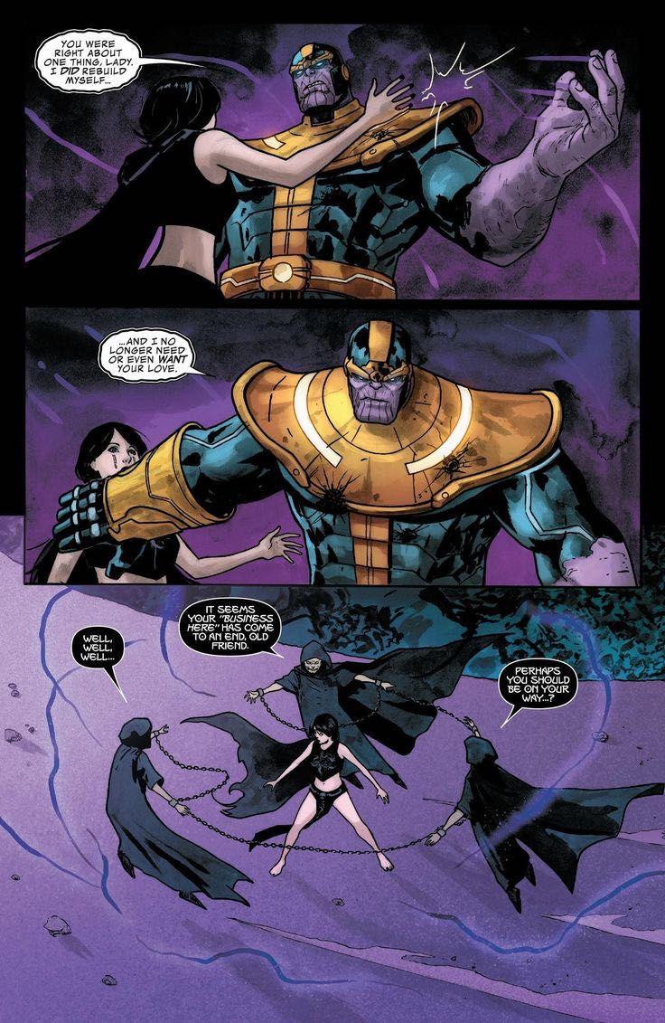 Yandere avengers oneshots!/lemons - Yandere thanos x reader
