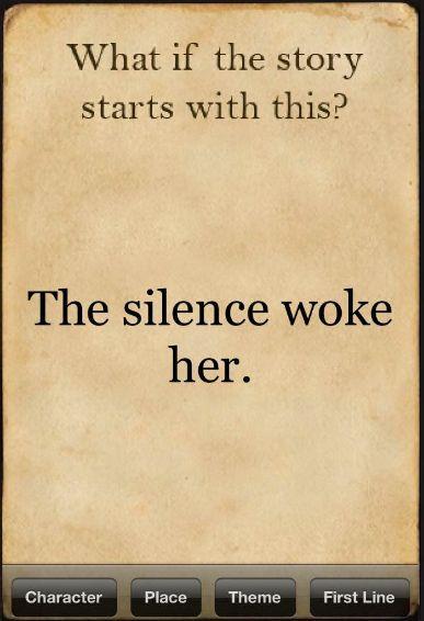 Writing Prompts I Elaborated On    - The Silence Woke Her