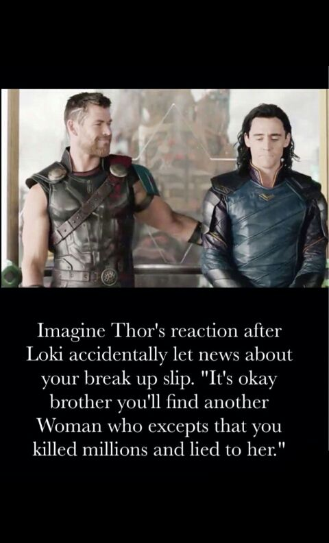 Avengers/Actors imagines! - Moving on (Loki x Reader) (Bucky