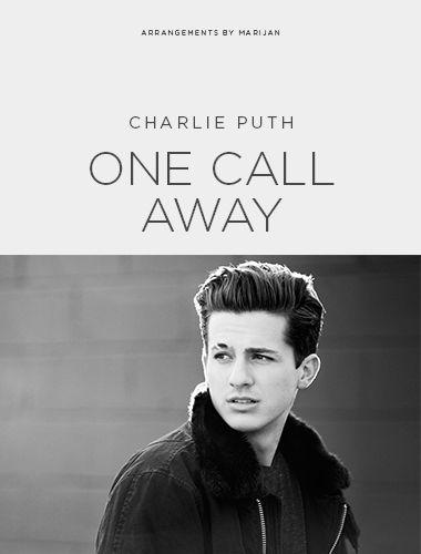 Ukulele Chords With Lyrics One Call Away By Charlie Puth Wattpad
