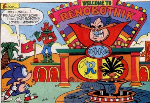 Sonic Comics AU - You Bet My Life part 1 - Wattpad