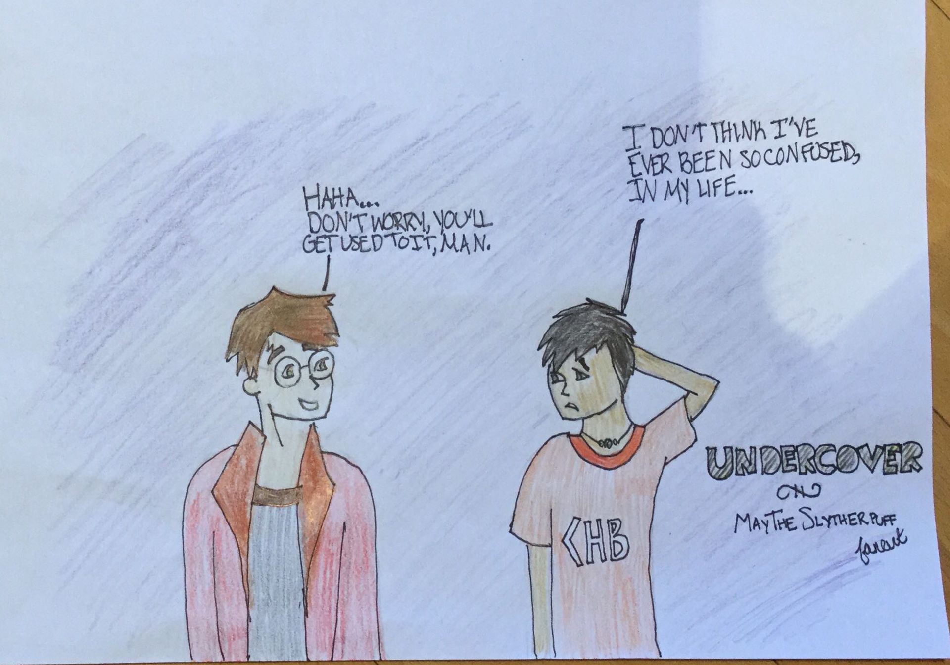 Undercover (Harry Potter and Percy Jackson Crossover