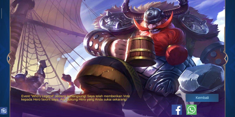 Lore Hero Mobile Legends 10 Franco Wattpad