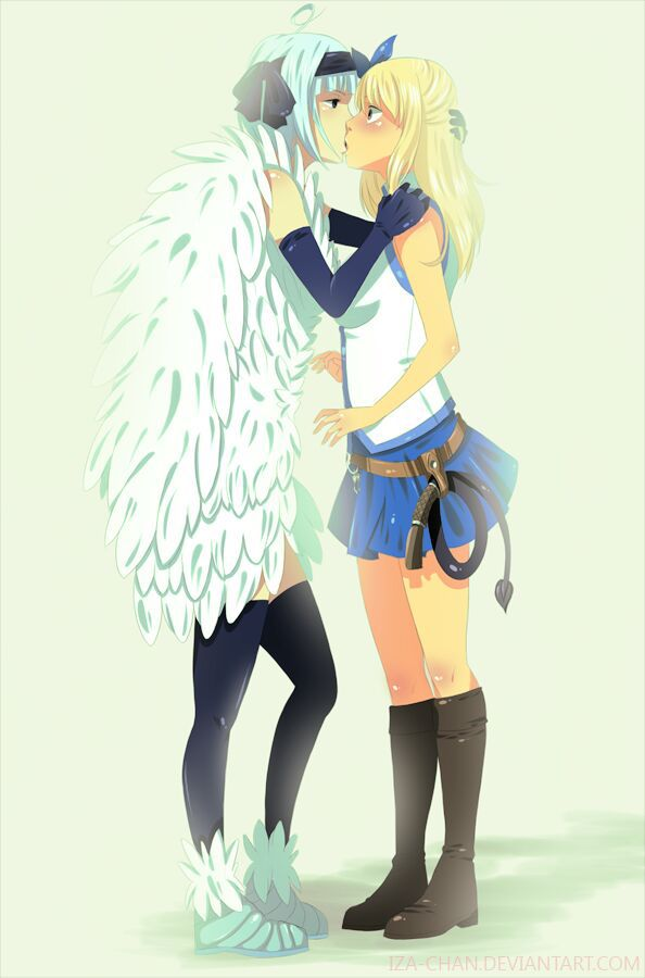 fairy tail worst ships w   pictures - angel x lucy