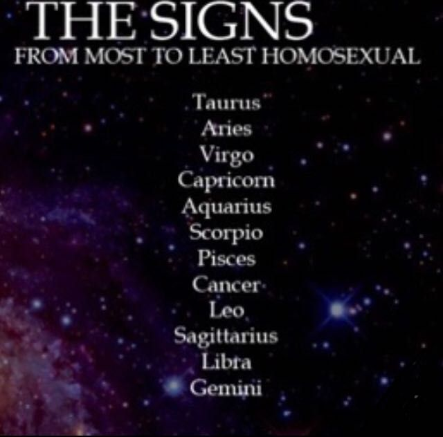 astrological signs homosexuality