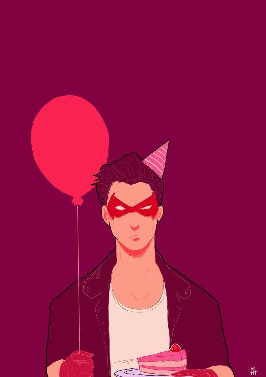 Bat Boys x Reader - Bat Boys X Reader - Happy Birthday to Me