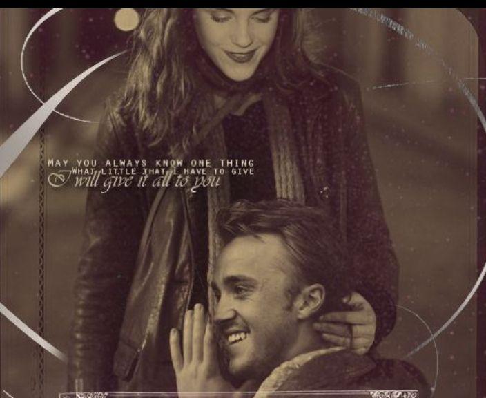 Draco hermine von ist schwanger Ron und