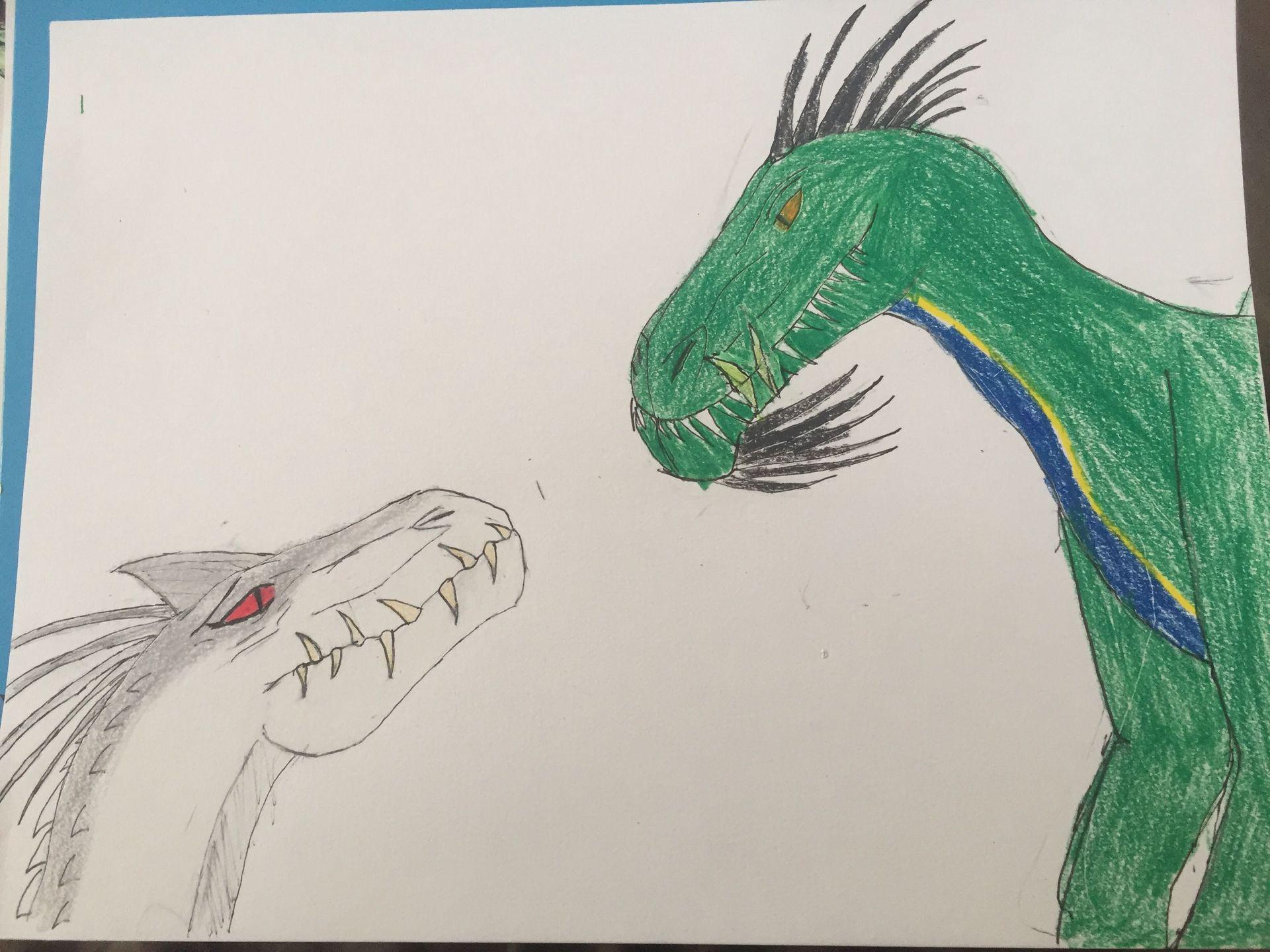 The New Hybrid: Wyvernius Rex - Chapter 3: Razor meets the