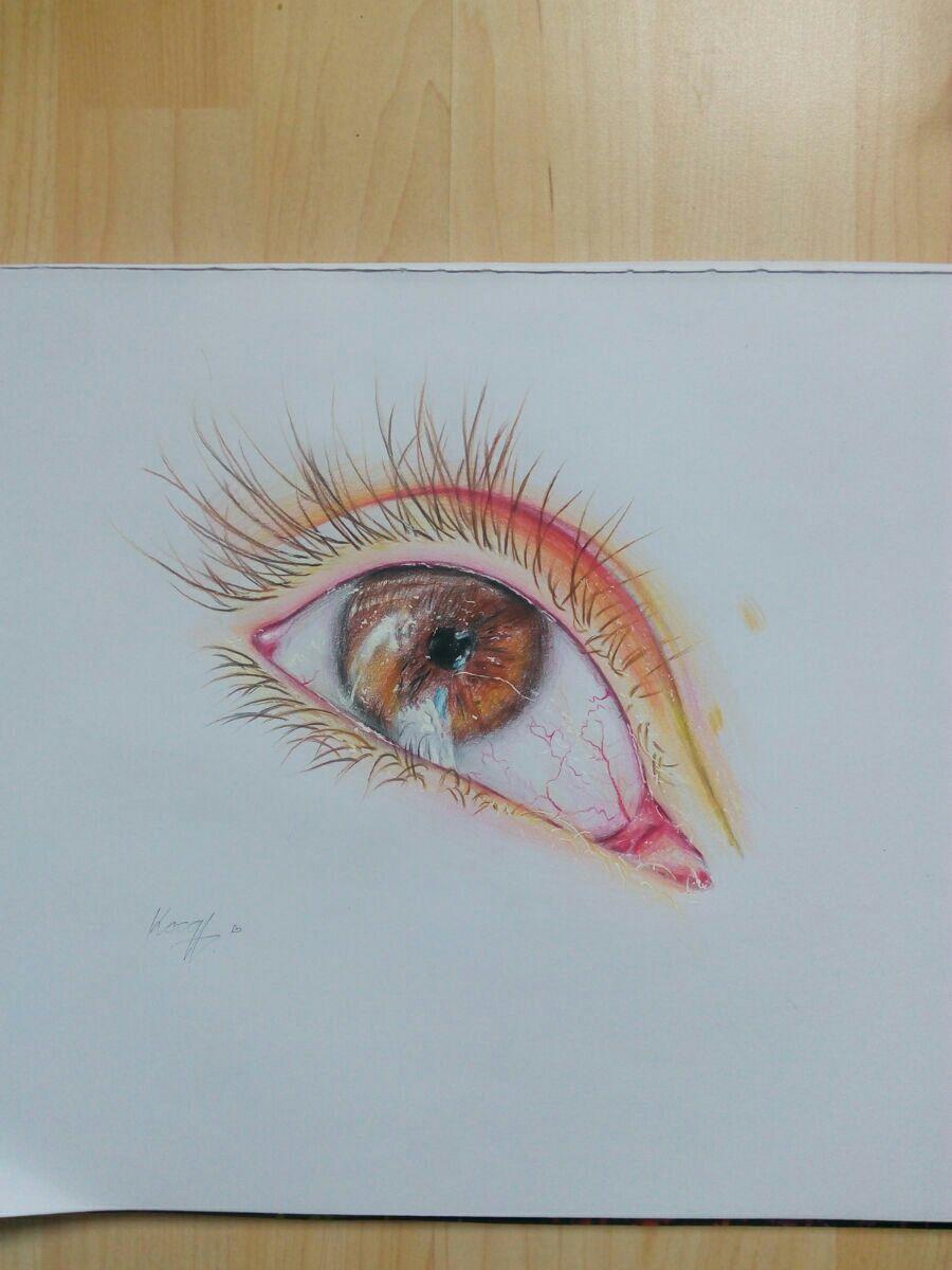 Jak Kreslit Tutorialy Realisticka Kresba Oka Wattpad