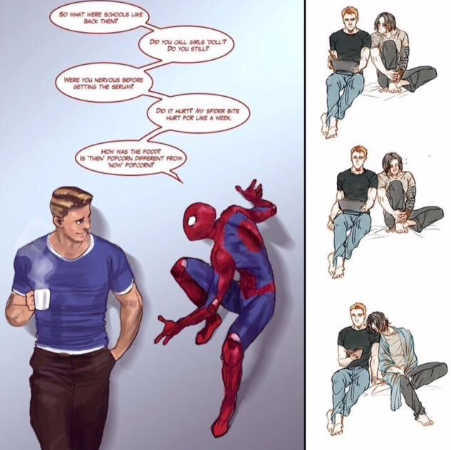 Dr strange and peter parker fanfic