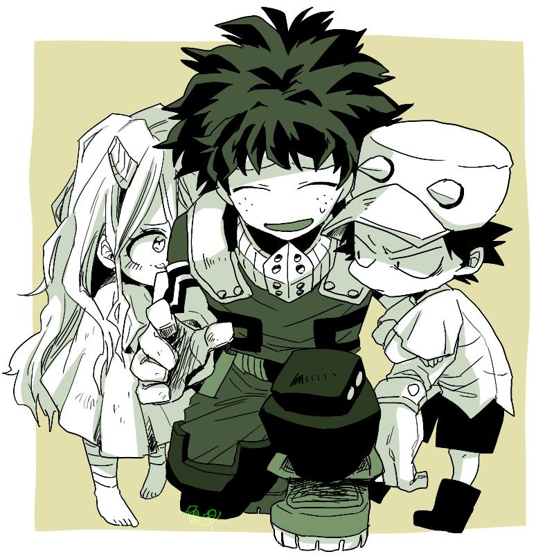 Boku No Hero Academia parent scenarios - When you learn you are