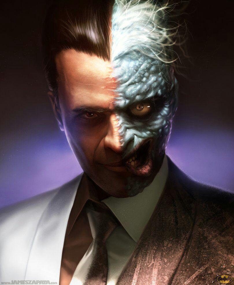 Batman Oneshots/Imagines - Chance (Two-Face/Harvey Dent x