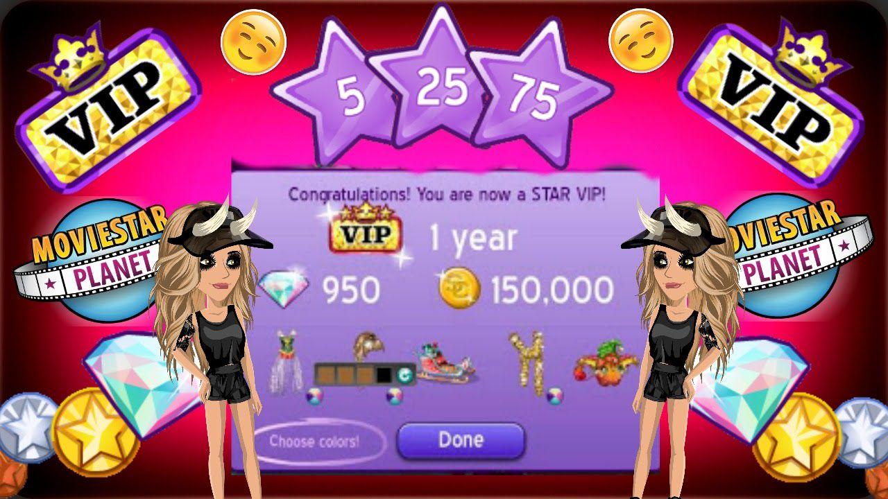 Moviestarplanet Free VIP up to 1 YEAR Free D-Pack Free