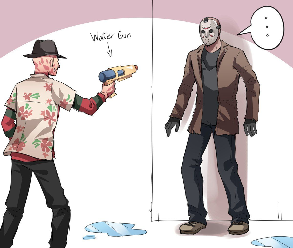 Slashers x Reader one-shots - Freddy Krueger x reader x