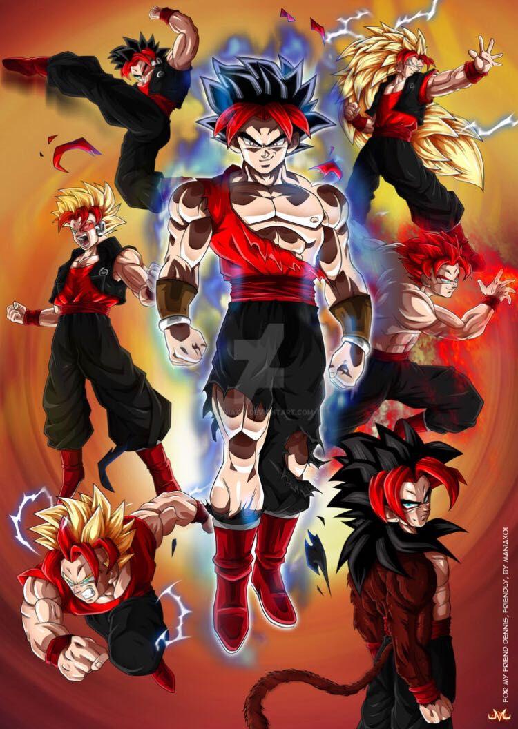 THE SAIYAN GOD! (My Hero Academia X Male Saiyan God OC
